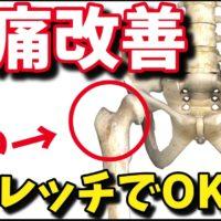 【腰痛の専門家が教える】股関節を使った腰痛改善ストレッチ方法